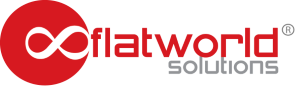 FlatWorldSolutions logo