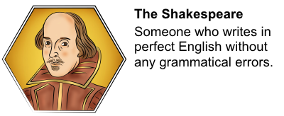 The Shakespeare Review Badge