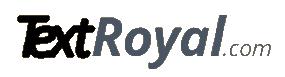 TextRoyal logo