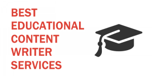 Educational Content Writing Services