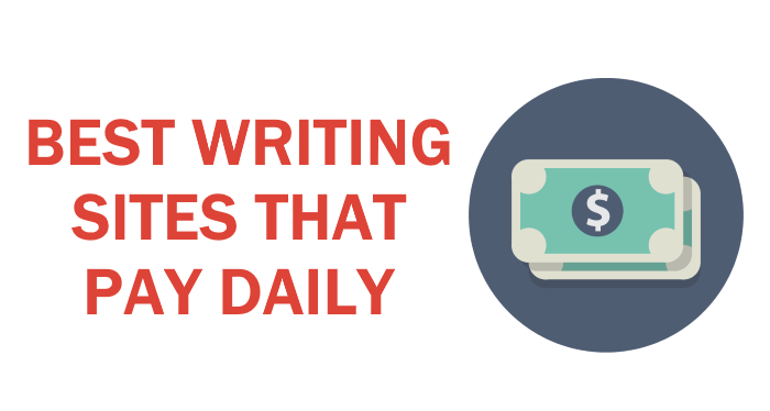Writing Sites That Pay Daily