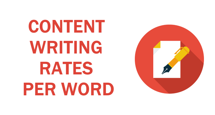 Content Writing Rates per Word