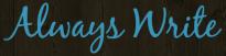 AlwaysWrite logo